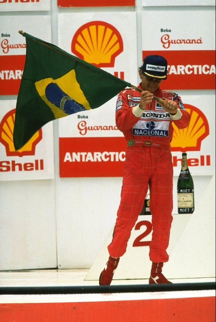 Ayrton Senna (Brazil 1991) by F1-history.deviantart.com on @DeviantArt