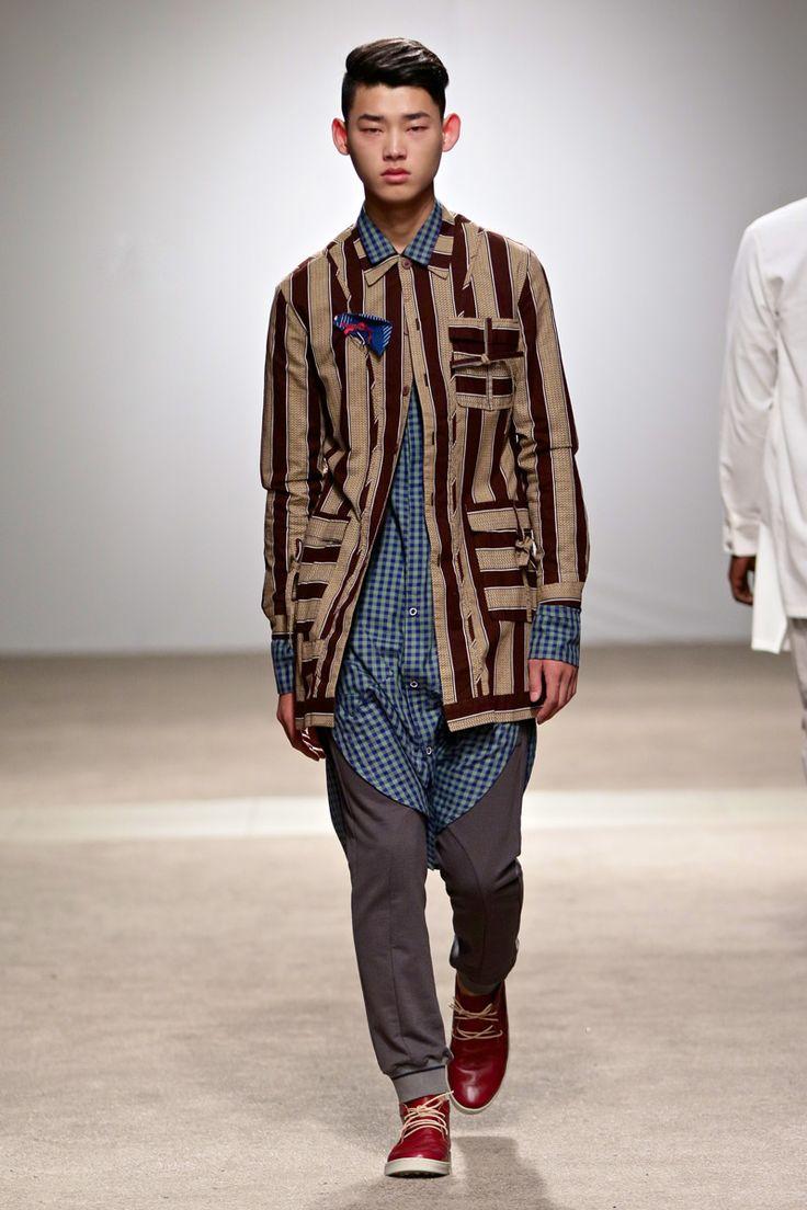 ALC Menswear AW17: Look 12 -- Photo: Simon Deiner at South African Menswear Week