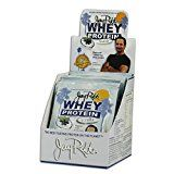 Jay Robb  Grass-Fed Whey Protein Isolate Powder Outrageously Delicious Vanilla 12 Packets