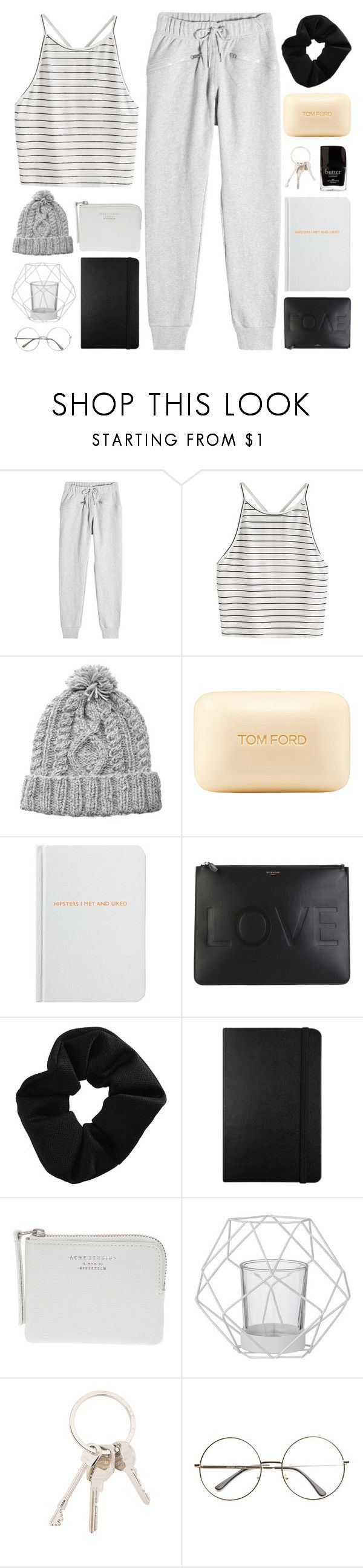 """""""NOBODY'S PERFECT"""" by expresng ❤ liked on Polyvore featuring adidas, HANDSOM, Tom Ford, Archie Grand, Givenchy, Topshop, Moleskine, Acne Studios, Bloomingville and Jack Black"""