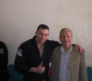 Lutador de jiu-jitsu: Mestre Robson Gracie