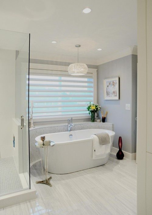 Elegant soft inviting bathroom. light wood porcelain tiled floor. & 154 best Bathroom Floor Tiles images on Pinterest | Architecture ... azcodes.com