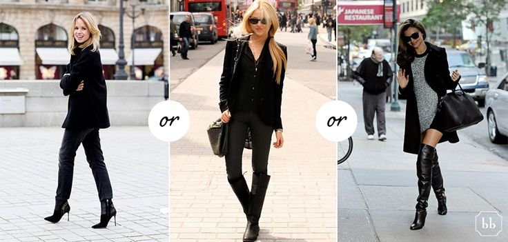 Are you wearing Ankle, Knee high or Over the knee boots this Winter?