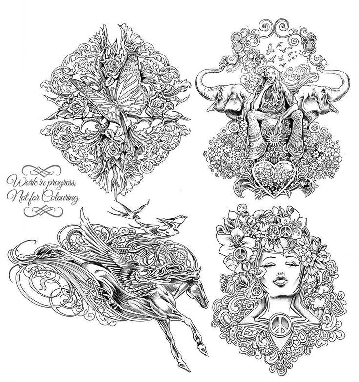 47 best bennett klein images on pinterest coloring books for Bennett klein coloring pages