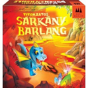 Titokzatos sárkánybarlang - képességfejlesztő társasjáték 5 éves kortól - Drei Magier Spiele