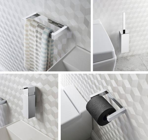 zest bathroom accessories range by crosswater