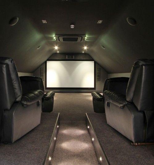 Loft Cinema Room Ideas