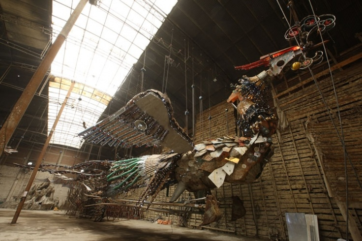 Xu Bing - Phoenix Project