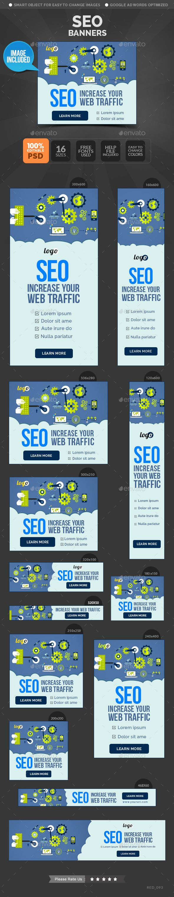 SEO Banners Template