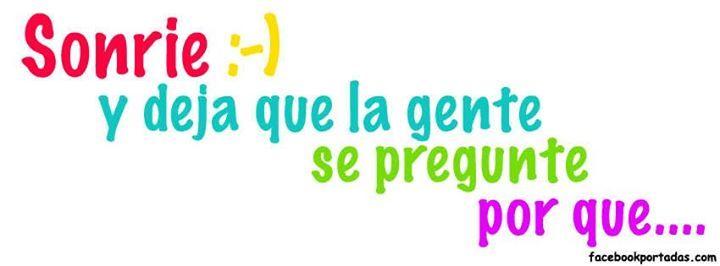Sonríe muchísimo mas... te conviene!!!. http://eshoradelcambio.wordpress.com/