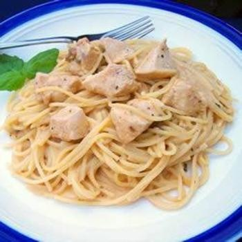 Angel Chicken Pasta: Chicken Breasts, Elegant Dinners Parties, Mushrooms Soups, Italian Salad Dresses, Baking Chicken, Dresses Mixed, Angel Hair, Italian Salad Dressings, Cream Cheeses