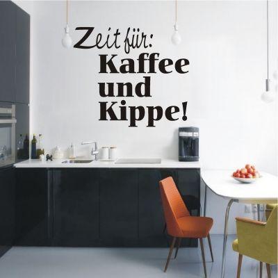 Best deko shop de Wandtattoo Kaffee und Kippe
