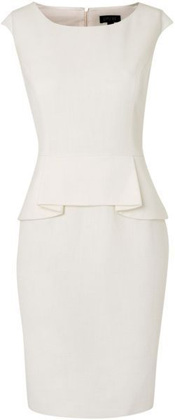 Episode Peplum Detail Dress - Lyst