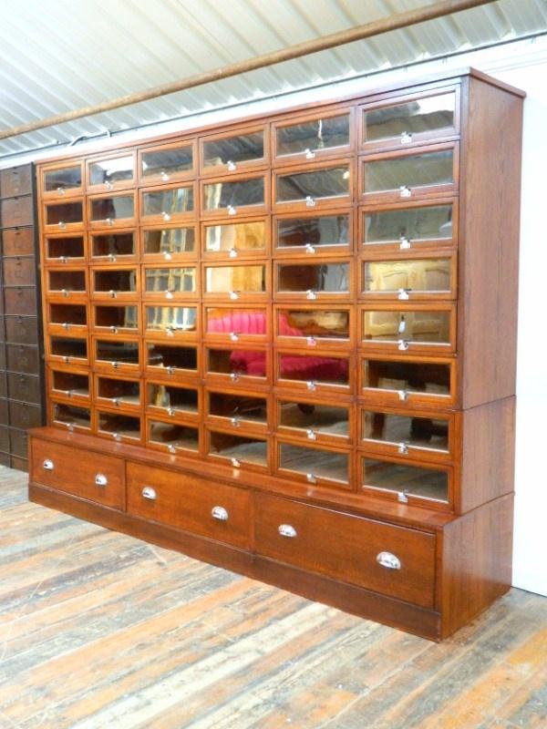 Large Haberdashery Cabinet