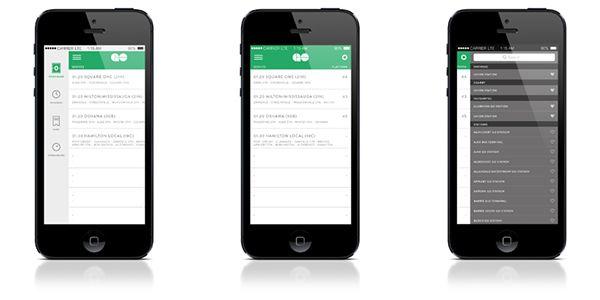 GO Transit iOS App Concept