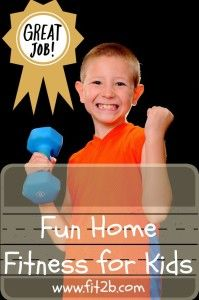 Fit2B™ Kids - Many great home fitness titles for your kids to choose from, so they can have a quick turn before you get your workout! #fit2b #tummysafe