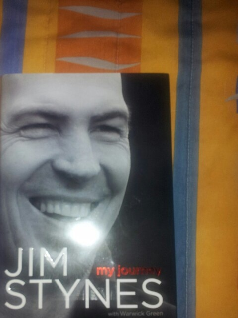 Jim stynes - should be a good read.