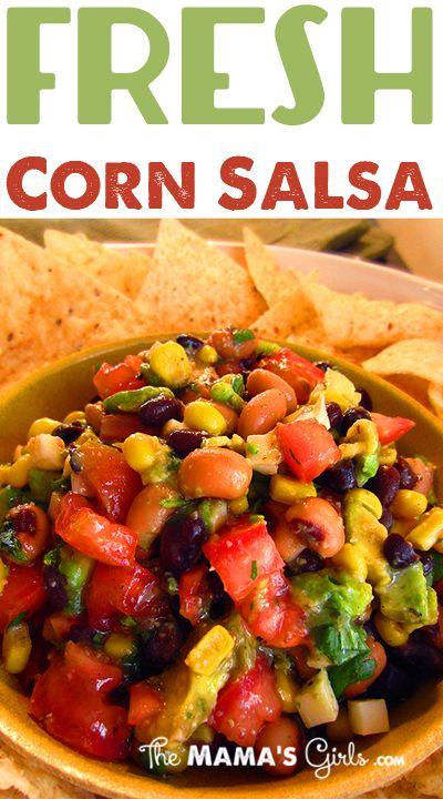 Amazing Fresh Corn Salsa on MyRecipeMagic.com #salsa #corn #fresh