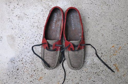 Teodelina Red  A/W2012  Nauticos / Loafers