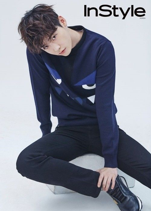 """Lee Jong Suk talks about what MBC drama """"W"""" means to him. On September 17, shots from his pictorial with InStyle were released. Though the actor manages to"""