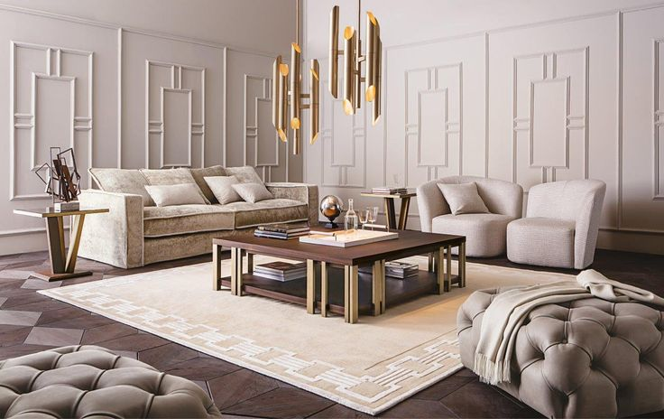 MONDRIAN coffee table, design Massimiliano Raggi for Casamilano home collection.