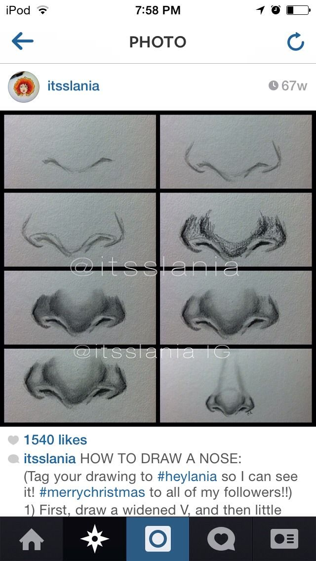 How To Draw Noses, Eyes, Hair, And Lips