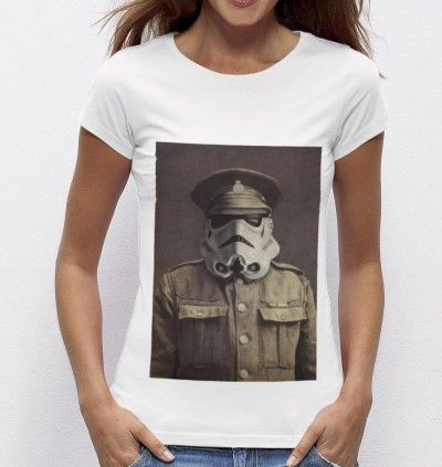 Tee-shirt Sergent Trooper - Madame TSHIRT x Terry Fan  -  Dispo ici : http://www.madametshirt.com/fr/tshirts/1670-t-shirt-sgt-trooper.html