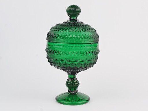 Bomboniera Huta Ząbkowice - zieleń butelkowa (7174350007) - Allegro.pl - Więcej niż aukcje.