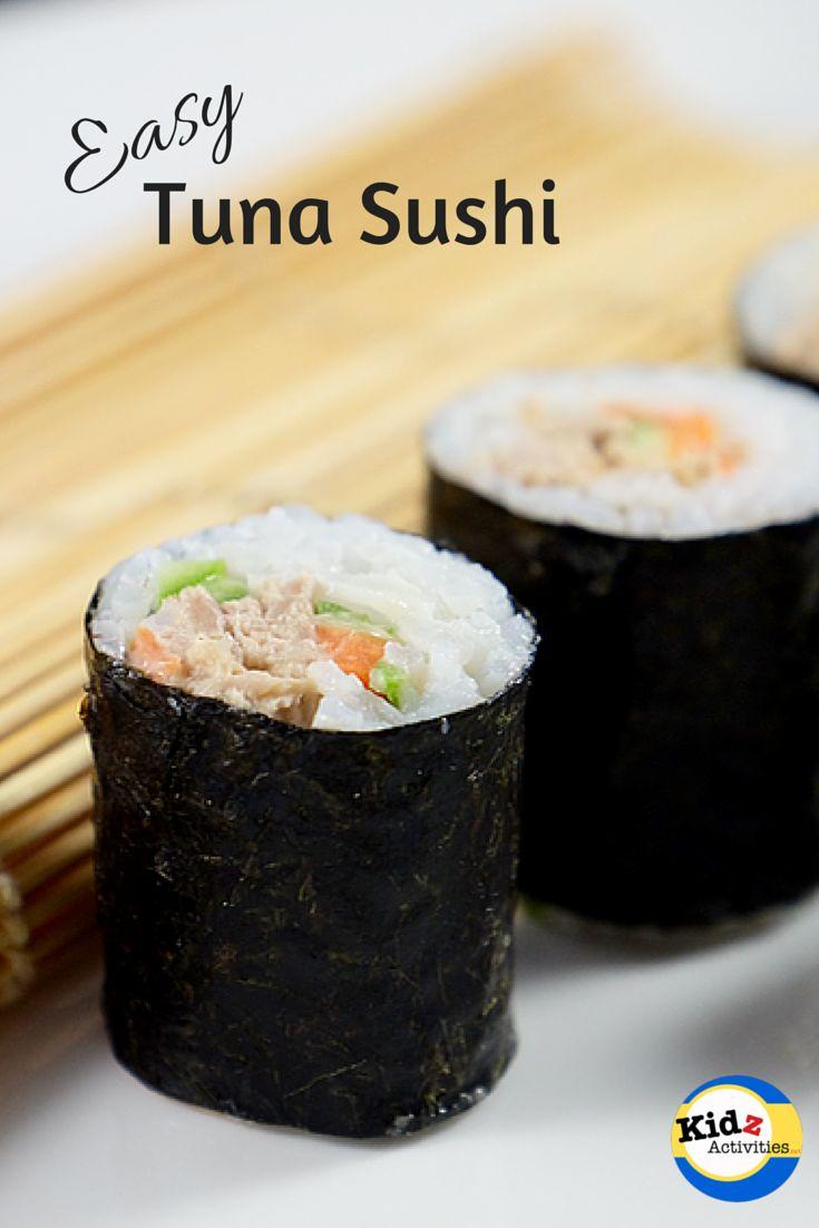 Tuna Sushi Recipe - Kidz Activities