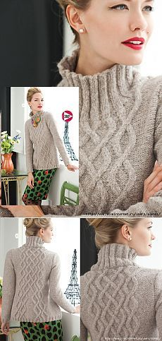Пуловер из журнала Vogue Knitting Holiday 2013                                                                                                                                                      More
