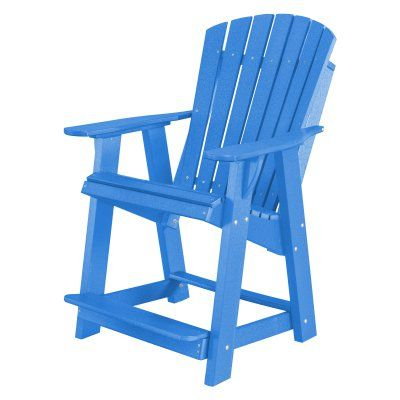 Outdoor Little Cottage Heritage High Adirondack Chair - LCC-119-BLUE