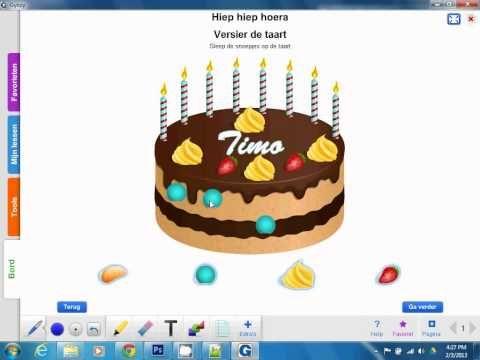 Een verjaardag vieren is erg leuk met de verjaardagstaart van Gynzy.  Je kunt de…