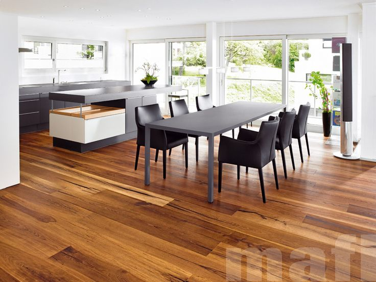 Timber Flooring | Tiger Oak Black Brushed Natural Oil | Mafi Timber