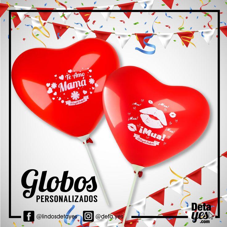 Globos Personalizados con forma de Corazón, Pedidos: 3185657519, Somos @detayesc  Envios a Toda Colombia