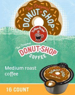 80 Count, Coffee People Donut Shop Coffee VUE Packs For Keurig Vue Brewers (5 - 16 ct VUE Packs) >>> You can get more details here : K Cups