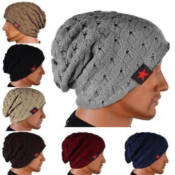 Winter Warm New Fashion Men Skull Beanie