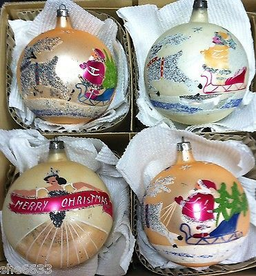 Fantastic 390 best Antique Glass Christmas Tree Ornaments. images on  MU95