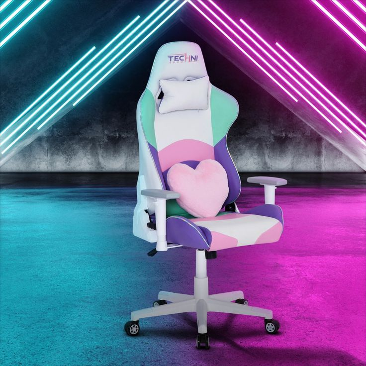 Ts42 kawaii colors gaming chair gaming chair pc gaming