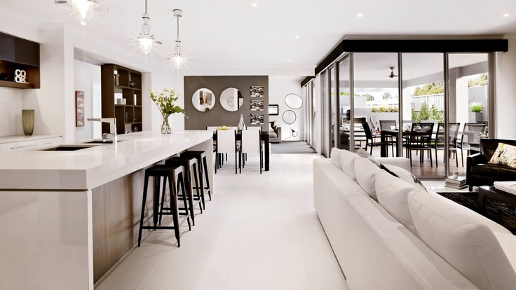 Ascot kitchen, lounge, dining
