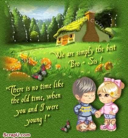 Image Detail For Beautiful Sister Brother Quotes Scraps Facebook Status My Brother