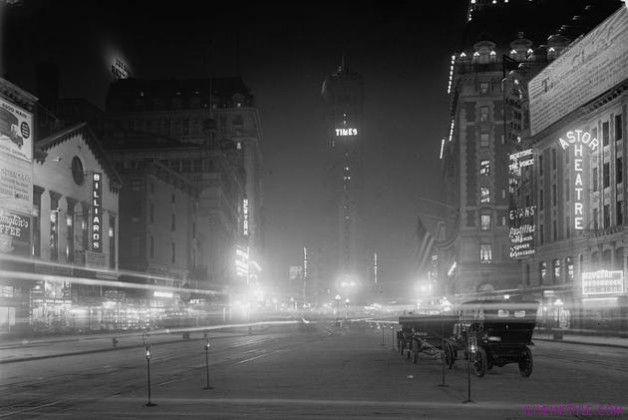 Times Square 1911, történelmi képek, iliveinstyle.com magazin