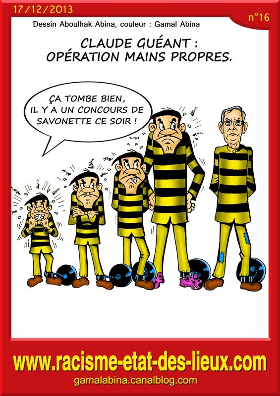 Claude Guéant : Opération mains propres.