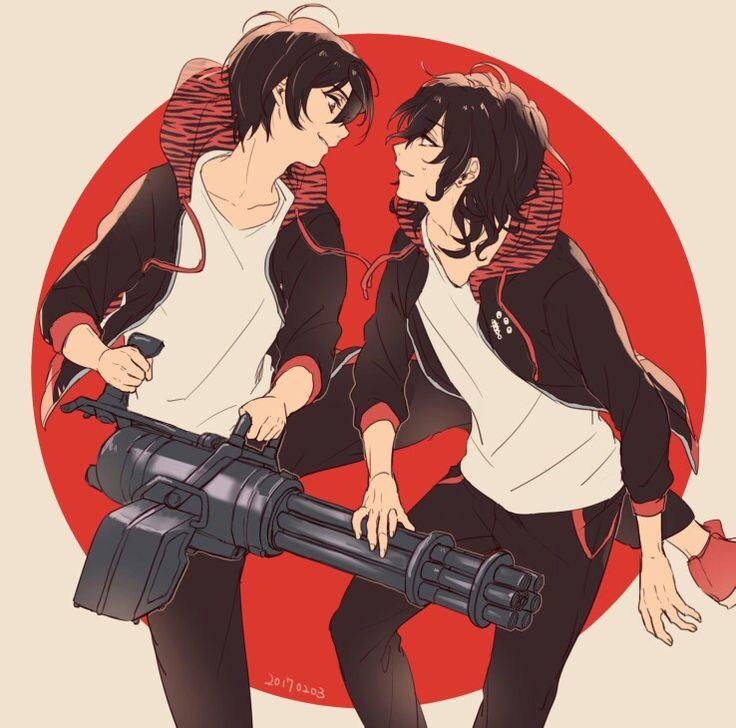 Ensemble Stars! Rei & Ritsu.