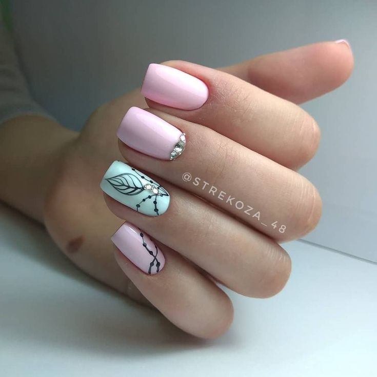 Top 60+ Fashionable nail art designs spring 2018