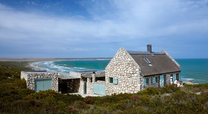 paternoster beach cottage | House and Leisure. Built on private nature reserve overlooking beach on West Coast of South Africa.