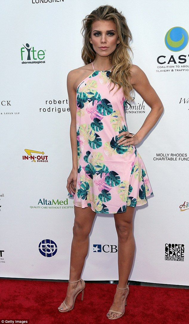 AnnaLynne McCord attends CAST From Slavery To Freedom gala in LA
