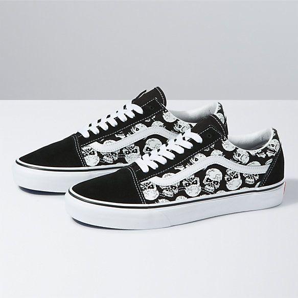 Flame Old Skool | Shop Shoes At Vans | Vans shoes old skool, Vans ...