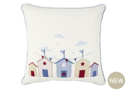 Laura Ashley, Seaside Applique Cushion