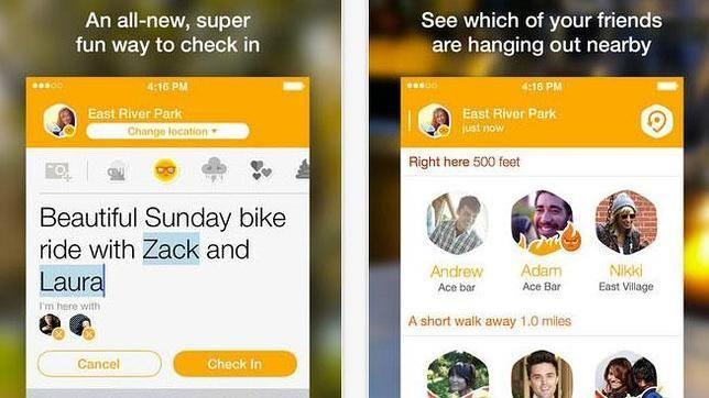 Así funciona Swarm, la nueva aplicación de Foursquare para localizar amigos
