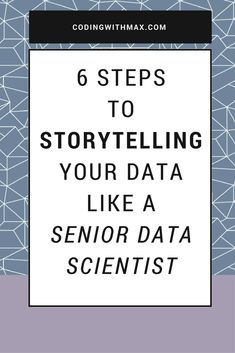 No data science journey can be complete without storytelling. Find out how to master the art of storytelling to advance your data science career. #storytelling #datascience #python #data